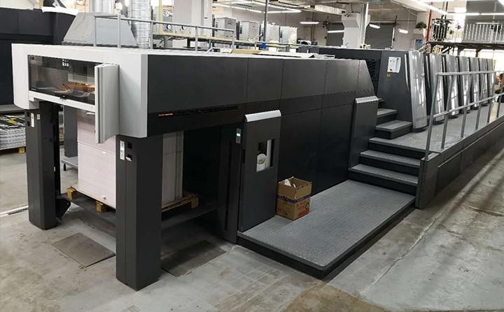 海德堡105对开印刷机