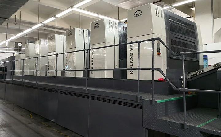 罗兰900全开印刷机